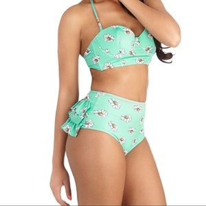 Daisy High Waisted Swimsuit